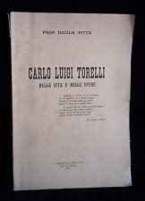 L27  CARLO LUIGI TORELLI NELLA VITA E NELLE OPERE DEL PROF. N. PITTA ANNO 1919