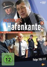 """4 DVDs * NOTRUF HAFENKANTE  ~ STAFFEL 9  # NEU OVP """""""