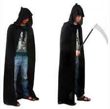 HOT Gothic Hooded Cloak Wicca Robe Medieval Witchcraft Cape Halloween Costume JJ