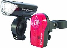 Sport DirectTM Bicycle Bike MegaBeamTM 3 Diode LED Light Set CE Approved