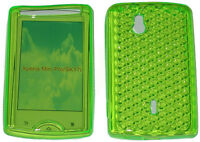 TPU Front & Back Gel Case Cover GREEN For Sony Ericsson Xperia Mini Pro SK17i UK