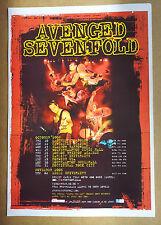 Avenged Sevenfold Tour Plakat 2006