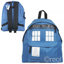 New Doctor Who TARDIS Backpack School Bag Book Rucksack Official Licensed