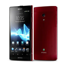 "4.55""Red Sony Ericsson Xperia Ion LTE LT28i 12MP 16GB Unlocked Android Cellphone"
