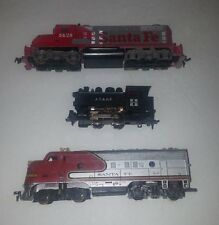 TYCO X2 & 1 unknown Engine lot HO