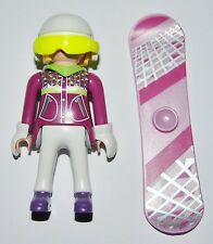 Series 11-M9 Snowboarder playmobil,serie,9147