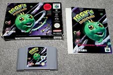Nintendo 64 - Iggy's Reckin' Balls - N64 - Complete - Boxed + Instructions - PAL