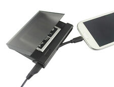 2in1 Micro USB Dock Battery Charger Power Charging Cradle For Samsung Galaxy