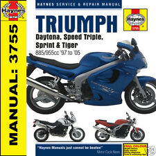 Triumph Daytona 955i Sprint Speed Triple Tiger T509 T595 Haynes Manual 3755 Nuevo