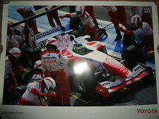 Poster F1 Toyota