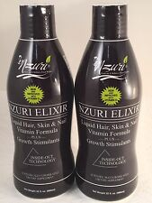 2 - 32 Ounce Bottles - Nzuri Elixir (Hair and Skin Supplement) by Nzuri LL