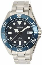 SEIKO SBDJ011 PROSPEX DIVER SCUBA TITANIUM SOLAR POWER 200M WATCH JAPAN