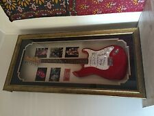Rolling Stones Signed Squire Guitar with COA