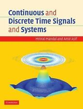 CONTINUOUS AND DISCRETE TIME SIGNALS AND SYSTEMS - NEW HARDCOVER BOOK