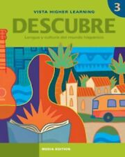 Descubre, Nivel 3,  Lengua Y Cultura Del Mundo Hispanico, , New Books