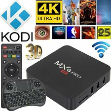 KODI (XBMC) MXQ PRO 4K S905 Quad Core Android Smart TV Box Fully Loaded+Keyboard