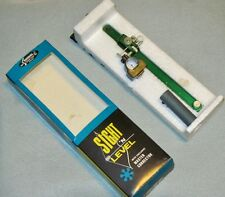 "NEW Vintage ""SIGHT 'N LEVEL"" by SAUNDERS for Target Archery-Stick or Tape On Bow"