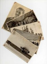 1940 Uruguay cycling sports oldest competition in America 5 real photo postcards