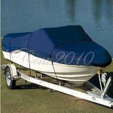 "210D Blue Waterproof Boat Cover 17 18 19 FT 95""-Beam Trailerable Runabout"