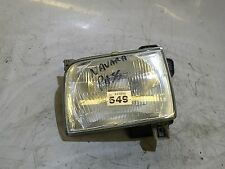 NISSAN NAVARA D22 1998-2001 Passenger Side Front Head Light Lamp Lens Unit #549