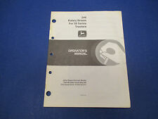 John Deere Operators Manual No OM-M73990 Issue May88,246 Rotary Broom,50 Series