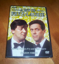 A BIT OF FRY & LAURIE Season Three 3 Classic British Comedy BBC TV NEW & SEALED