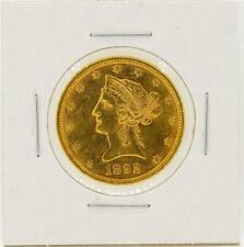 1892 $10 Liberty Head Eagle Gold Coin Lot 473