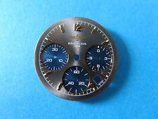 BREITLING 1990s SEXTANT Chronograph Quartz Ref.55046 /7 Mens Wristwatch Dial NOS