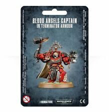 BLOOD ANGELS CAPTAIN: TERMINATOR ARMOUR - WARHAMMER 40,000 - GAMES WORKSHOP