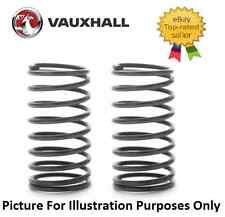 VAUXHALL CORSA C 00-06 1.0 1.2 1.4 16v SXi FRONT 2 SUSPENSION COIL SPRINGS *New*