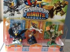 SKYLANDERS GIANTS SONIC BOOM! SPROCKETS,STUMP SMASH  NEW PACKAGE