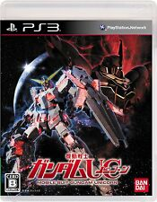 USED PS3 Mobile Suit Gundam UC. Playstation3 Japan Import