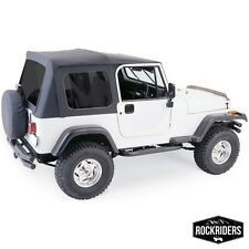 1976-1995 Jeep Wrangler & CJ7 Full Door Soft Top with Hardware & Tinted Windows