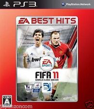 Used PS3  EA BEST HITS FIFA 11  SONY PLAYSTATION 3 JAPAN JAPANESE IMPORT