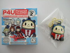 Kuma D4 Rubber Strap Key Chain P4U Persona 4 The Ultimate in Mayonaka Arena EMPT
