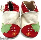 Tula2shoes Soft Leather Baby Girls/Toddlers Red Shoes 0-6,6-12,12-18,18-24 mths