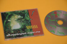 CD SINGOLO (NO LP ) NIRVANA ALL APOLOGIES ORIG 1993