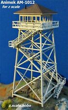 Animek Z Scale Fire Lookout Tower Firewatch Ute Mtn Laser-Cut **Kit *NEW $0 Ship