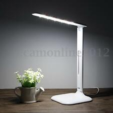 Foldable Dimmable LED Night Light Bedside Desk Reading Lamp Touch Sensor