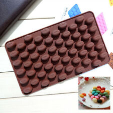 New Chocolate Candy Molds Silicone Coffee Bean Jelly Soap Molds for Hand Made