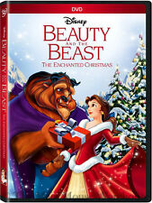 Disney Beauty and the Beast The Enchanted Christmas Children's Holiday DVD