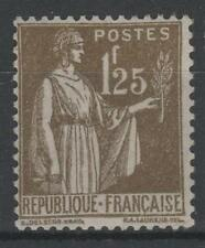 """FRANCE STAMP TIMBRE N° 287 """" TYPE PAIX 1F25 OLIVE """" NEUF xx TTB  N434"""