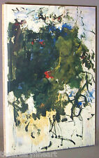 JOAN MITCHELL: My Black Paintings, 1964 Exhibition Catalog Robert Miller Gallery
