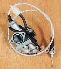 Carburetor W/ Throttle Cable For Honda XR100 XR100R XL100S CRF100F Carb