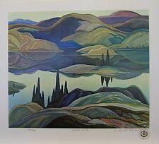 Franklin CARMICHAEL Group of Seven Mirror Lake LTD art print Publisher Proof 35