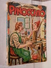 LE AVVENTURE DI PINOCCHIO Storia di un burattino C Collodi Lucchi 1963 Narrativa