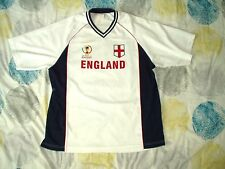 Football T Shirt England 2002 Korea Japan World Cup White Extra Large XL