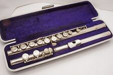 flute MUROMATSU (model 102 with solid silver head Japan)