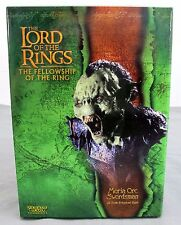 Lord Of The Rings The Fellowship Moria Orc Swordsman 1/4 Scale Bust New In Box