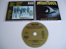 MIDAS TOUCH Presage of Disaster CD 1989 RARE OOP THRASH ORIGINAL 1st PRESS USA!!